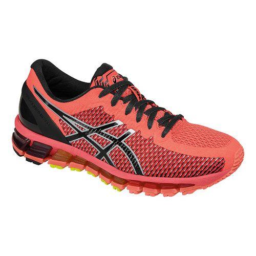 Womens ASICS GEL-Quantum 360 CM Running Shoe - Coral/Black 6.5