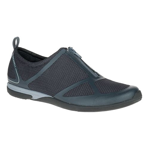 Womens Merrell Ceylon Sport Zip Casual Shoe - Black 7