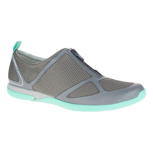 Womens Merrell Ceylon Sport Zip Casual Shoe - Castlerock 9