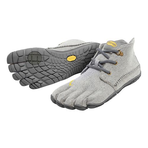 Mens Vibram FiveFingers CVT-Wool Casual Shoe - Navy/Grey 42