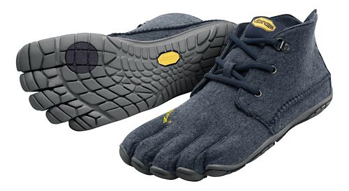 Mens Vibram FiveFingers CVT-Wool Casual Shoe - Navy/Grey 41