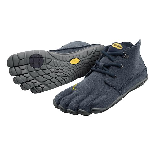 Mens Vibram FiveFingers CVT-Wool Casual Shoe - Navy/Grey 45