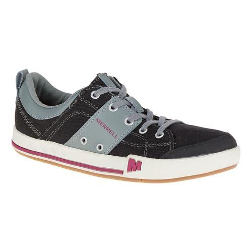 Womens Merrell Rant Casual Shoe - Black 10.5