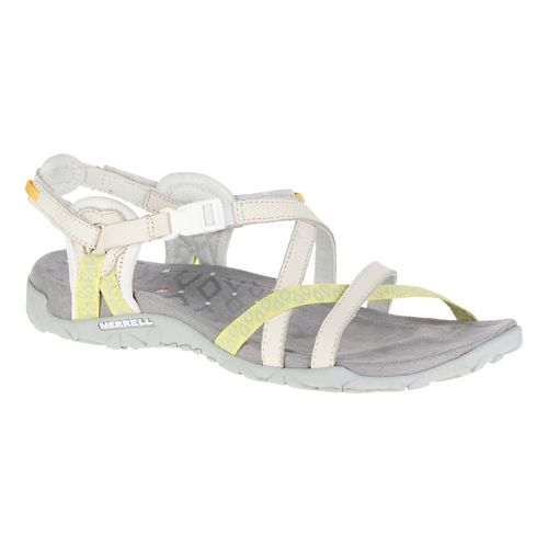 Womens Merrell Terran Lattice II Sandals Shoe - White 8