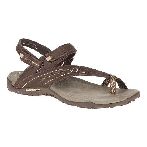 Womens Merrell Terran Convertible II Sandals Shoe - Dark Earth 5
