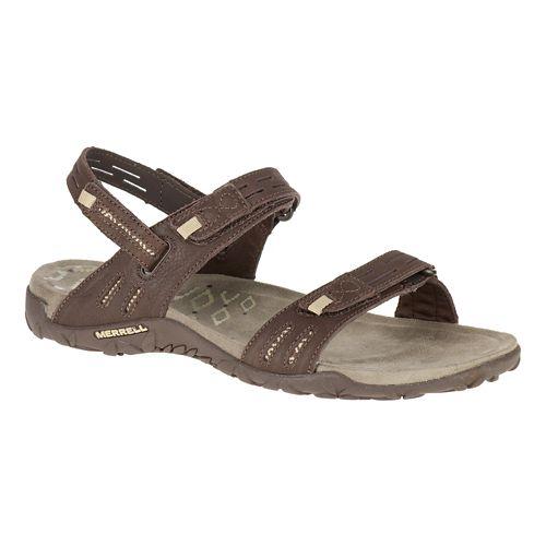 Womens Merrell Terran Strap II Sandals Shoe - Dark Earth 9