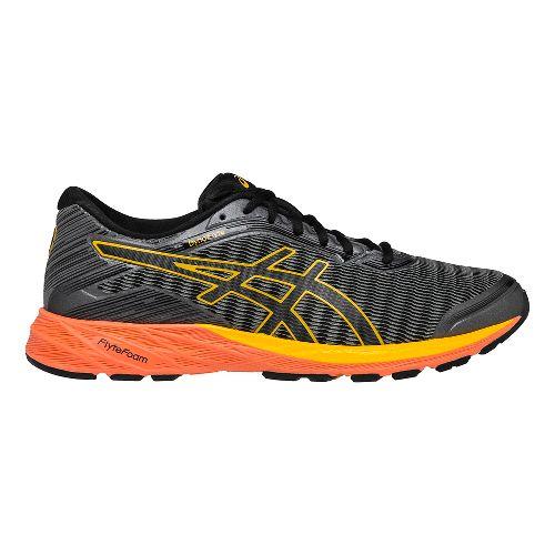 Mens ASICS DynaFlyte Running Shoe - Carbon/Black 12.5