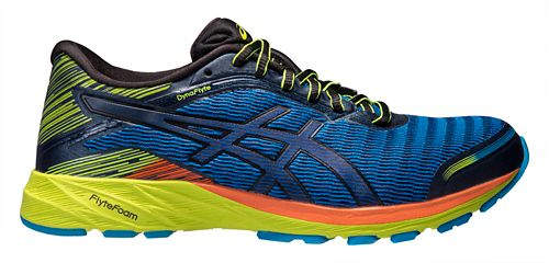 Mens ASICS DynaFlyte Running Shoe - Blue/Black 11