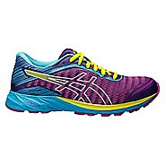 Womens ASICS DynaFlyte Running Shoe - Purple/Aqua 12