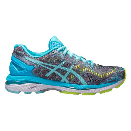 Womens ASICS GEL-Kayano 23 Running Shoe - Aqua/Grey 12