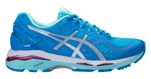 Womens ASICS GEL-Kayano 23 Running Shoe - Blue/Silver 12