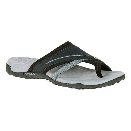 Womens Merrell Terran Post II Sandals Shoe - Black 7