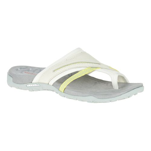 Womens Merrell Terran Post II Sandals Shoe - White 10