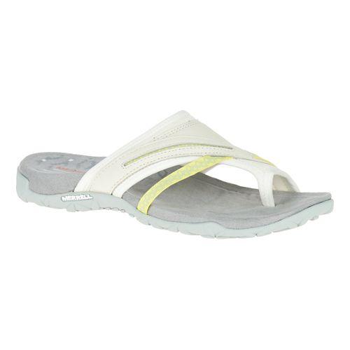 Womens Merrell Terran Post II Sandals Shoe - White 8