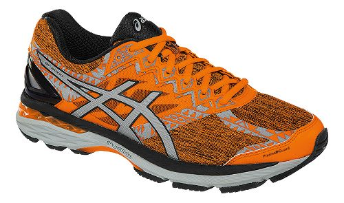 Mens ASICS GT-2000 4 Lite-Show PG Running Shoe - Orange/Black 14