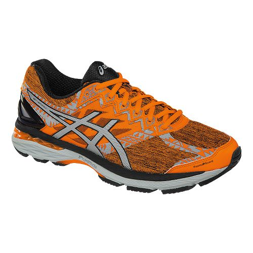 Mens ASICS GT-2000 4 Lite-Show PG Running Shoe - Orange/Black 9.5