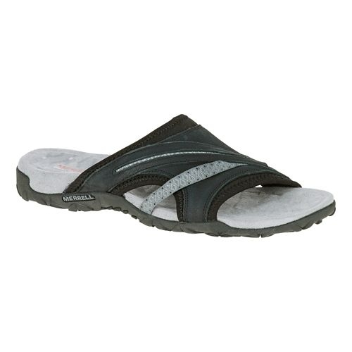 Womens Merrell Terran Slide II Sandals Shoe - Black 5