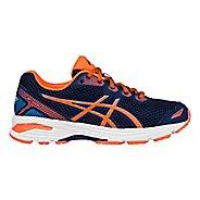 Kids ASICS GT-1000 5 Running Shoe - Blue/Orange 2Y