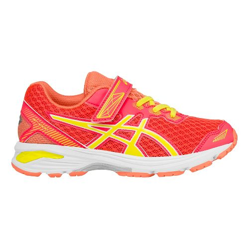 Kids ASICS GT-1000 5 Running Shoe - Diva Pink/Sun 1.5Y