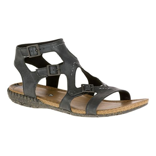 Womens Merrell Whisper Buckle Sandals Shoe - Black 10