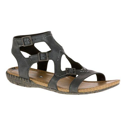 Womens Merrell Whisper Buckle Sandals Shoe - Black 7