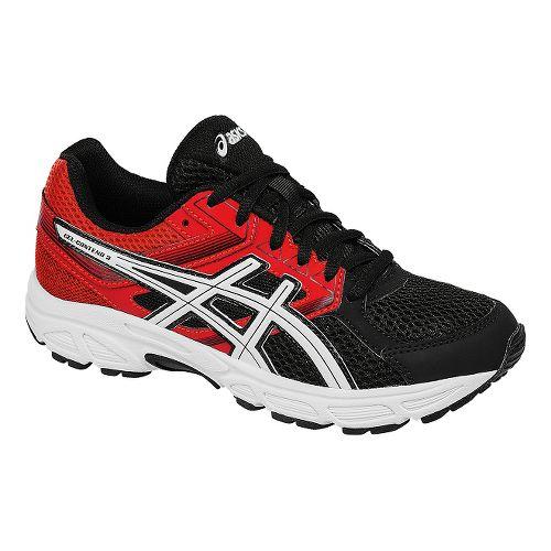 Kids ASICS GEL-Contend 3 Running Shoe - Black/Red 6Y