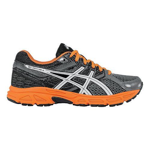 Kids ASICS GEL-Contend 3 Running Shoe - Carbon/Orange 7Y