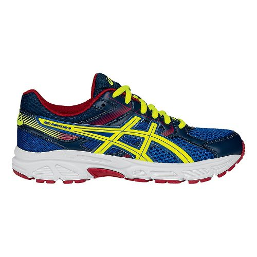 Kids ASICS GEL-Contend 3 Running Shoe - Yellow/Red 2Y