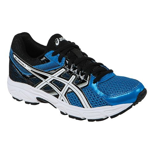 Kids ASICS GEL-Contend 3 Running Shoe - Electric Blue/White 4.5Y