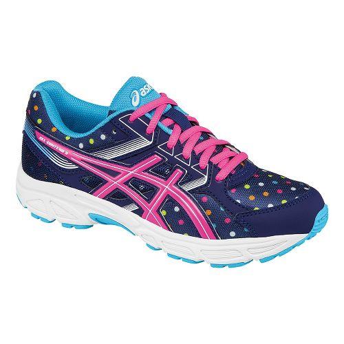 Kids ASICS GEL-Contend 3 Running Shoe - Indigo/Pink 3.5Y
