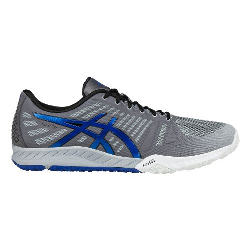 Mens ASICS fuzeX TR Cross Training Shoe - Grey/Blue 10.5