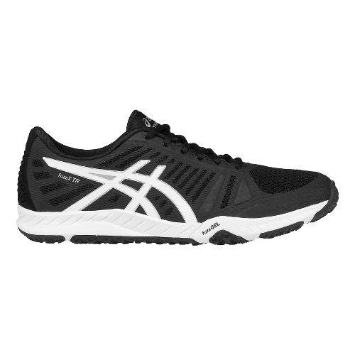 Womens ASICS fuzeX TR Cross Training Shoe - Black/White 9.5