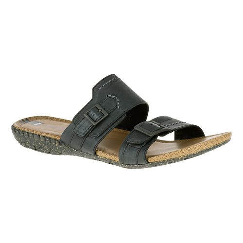 Womens Merrell Whisper Slide Sandals Shoe - Black 7