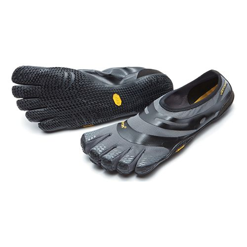 Mens Vibram FiveFingers EL-X Cross Training Shoe - Grey/Black 45