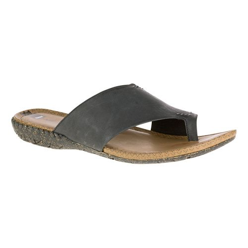 Womens Merrell Whisper Wrap Sandals Shoe - Black 5