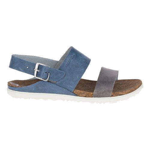 Womens Merrell Around Town Backstrap Sandals Shoe - Blue 10