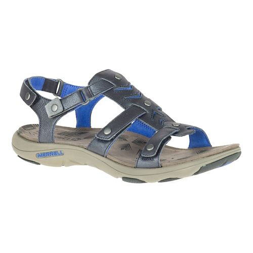 Womens Merrell Adhera Strap Sandals Shoe - Cement 6