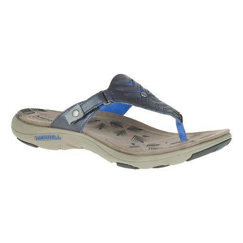 Womens Merrell Adhera Thong Sandals Shoe - Cement 6
