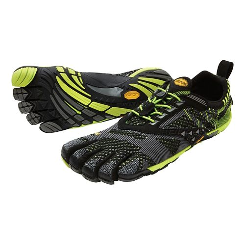Mens Vibram FiveFingers KMD EVO Cross Training Shoe - Black/Yellow 42