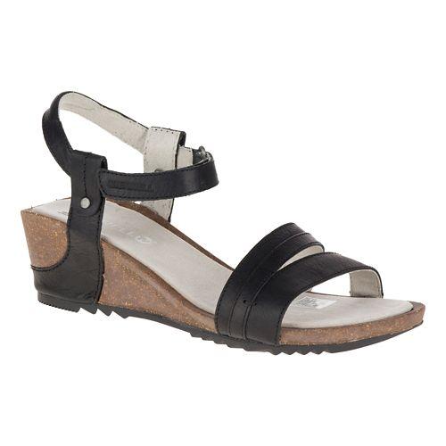 Womens Merrell Revalli Aura Strap Sandals Shoe - Black 7