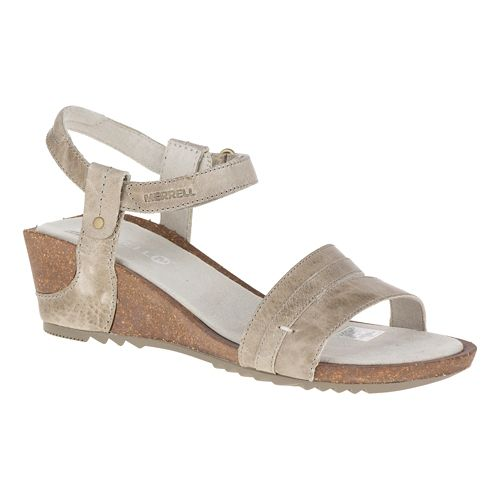 Womens Merrell Revalli Aura Strap Sandals Shoe - Grey 10
