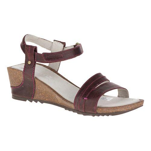 Womens Merrell Revalli Aura Strap Sandals Shoe - Deep Purple 9