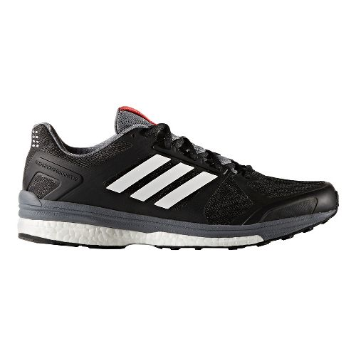 Mens adidas Supernova Sequence 9 Running Shoe - Black/White 8