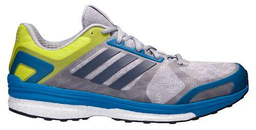 Mens adidas Supernova Sequence 9 Running Shoe - Grey/Blue 12
