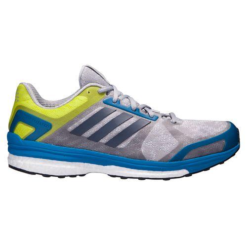 Mens adidas Supernova Sequence 9 Running Shoe - Grey/Blue 7