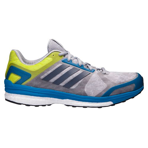 Mens adidas Supernova Sequence 9 Running Shoe - Grey/Blue 8.5