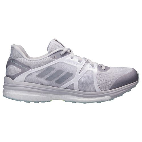 Womens adidas Supernova Sequence 9 Running Shoe - Grey/Silver 7.5