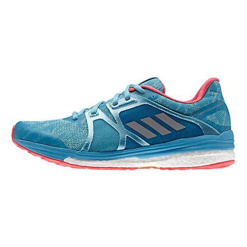 Womens adidas Supernova Sequence 9 Running Shoe - Vapour Blue/Steel 5.5