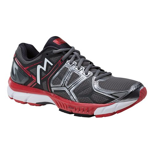 Mens 361 Degrees Spire Running Shoe - Castlerock/Black 8