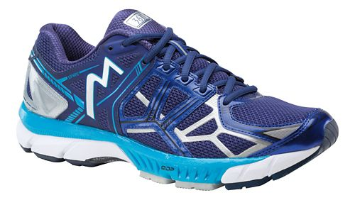 Mens 361 Degrees Spire Running Shoe - Blue/Atomic Blue 10.5